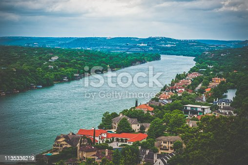 Cityscape of Austin in Texas