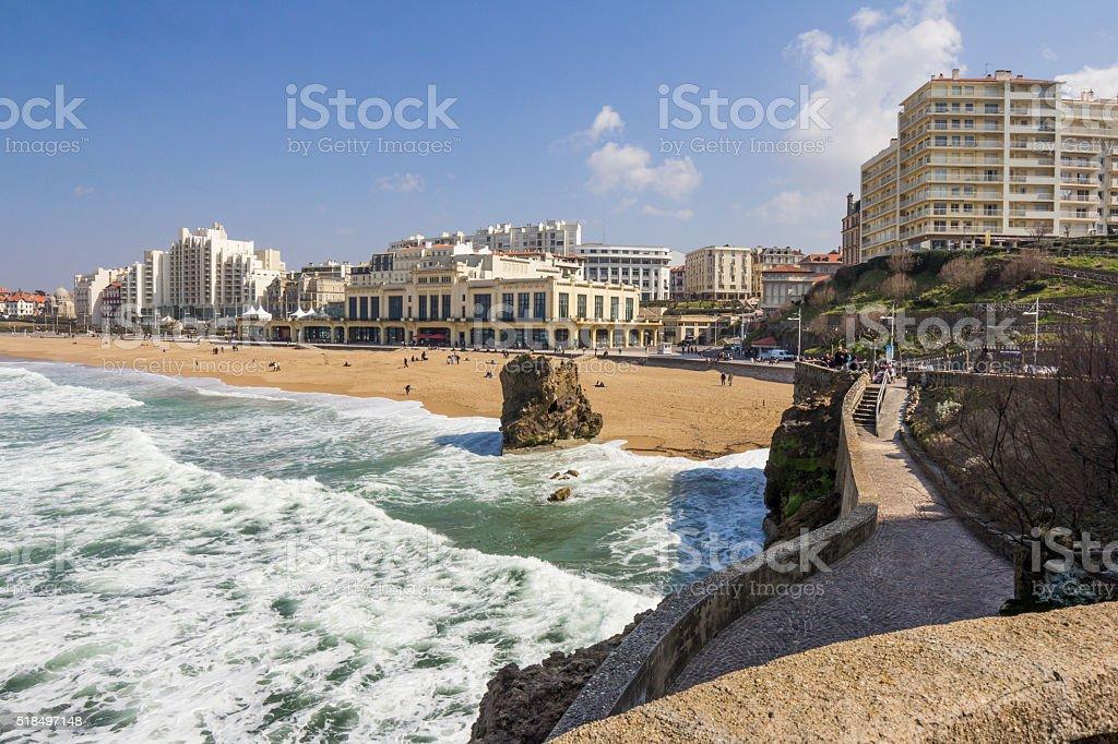 Paysage urbain de Biarritz, France - Photo