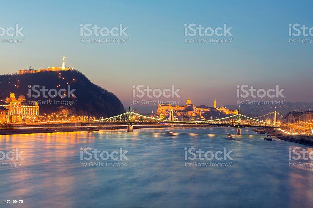 Cityscape of Budapest stock photo