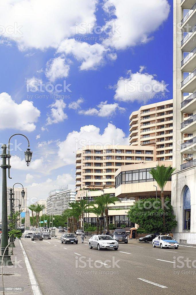 Cityscape of Cairo. Egypt. royalty-free stock photo