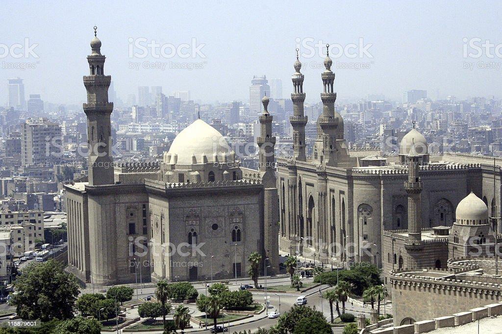 Cityscape of Cairo stock photo