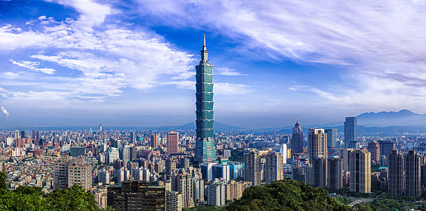 Urbain du centre-ville de Taipei, Taiwan - Photo