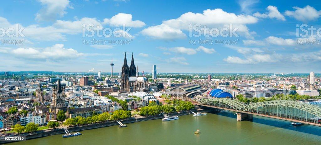Stadtbild Köln Lizenzfreies stock-foto