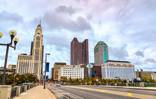 Cityscape of Columbus - Ohio, United States stock photo