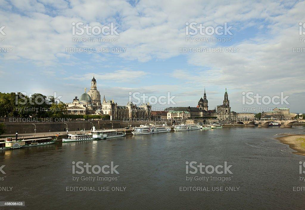 Cityscape of Dresden. stock photo