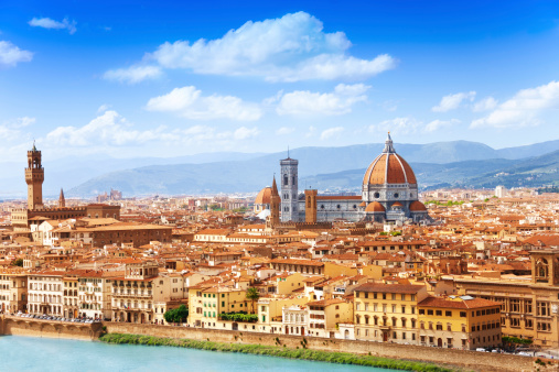 Cityscape of Florence