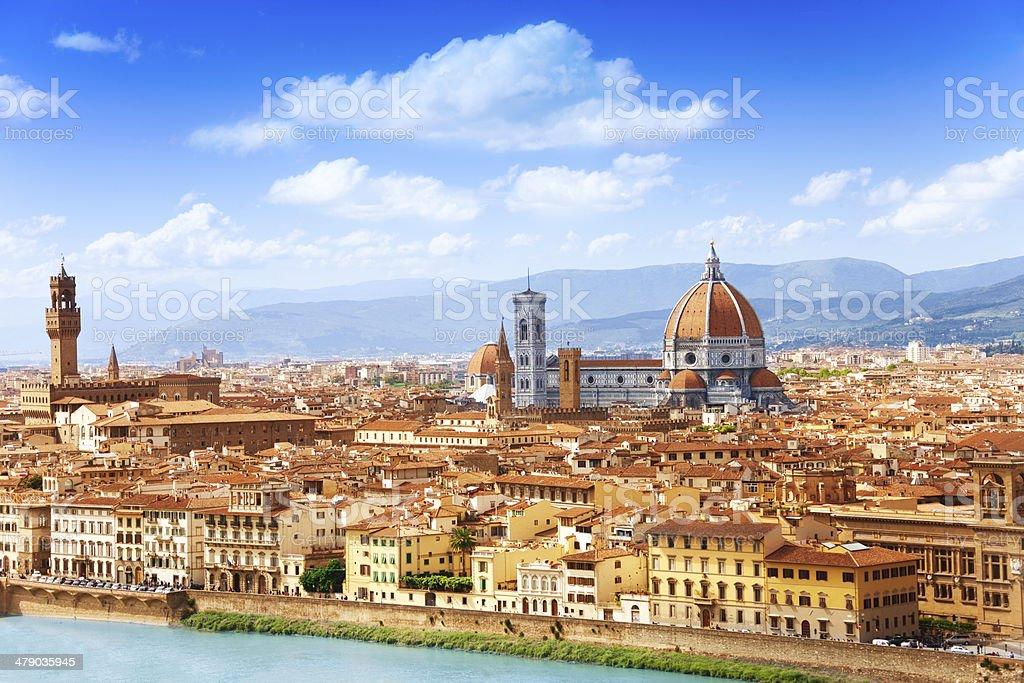 Ciudad de Florencia - foto de stock