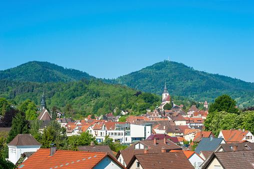 Cityscape of Gernsbach