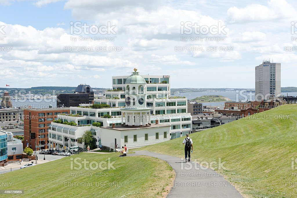 Cityscape of Halifax,Nova Scotia royalty-free stock photo
