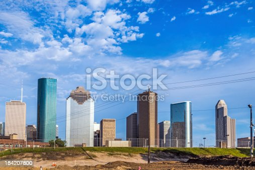 542727462 istock photo cityscape of Houston 184207800