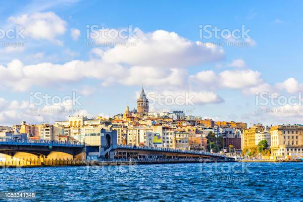 Cityscape of Istanbul at sunny day ,Turkey