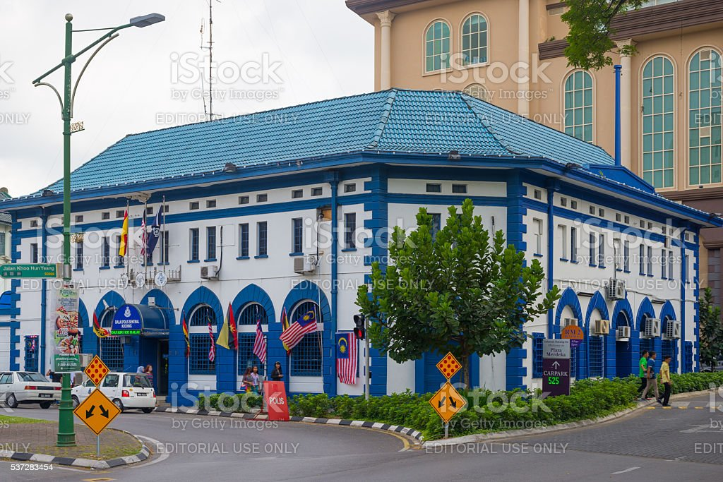 Cityscape of Kuching, West sarawak, Borneo, Malaysia stock photo