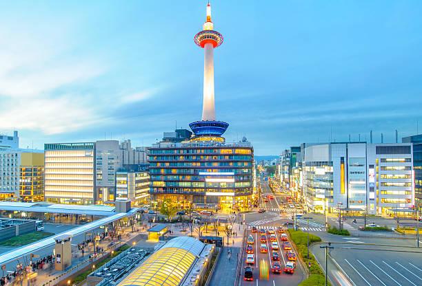 ciudad de kioto - kyoto fotografías e imágenes de stock