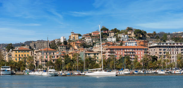 cityscape of la spezia - liguria italy - la spezia foto e immagini stock