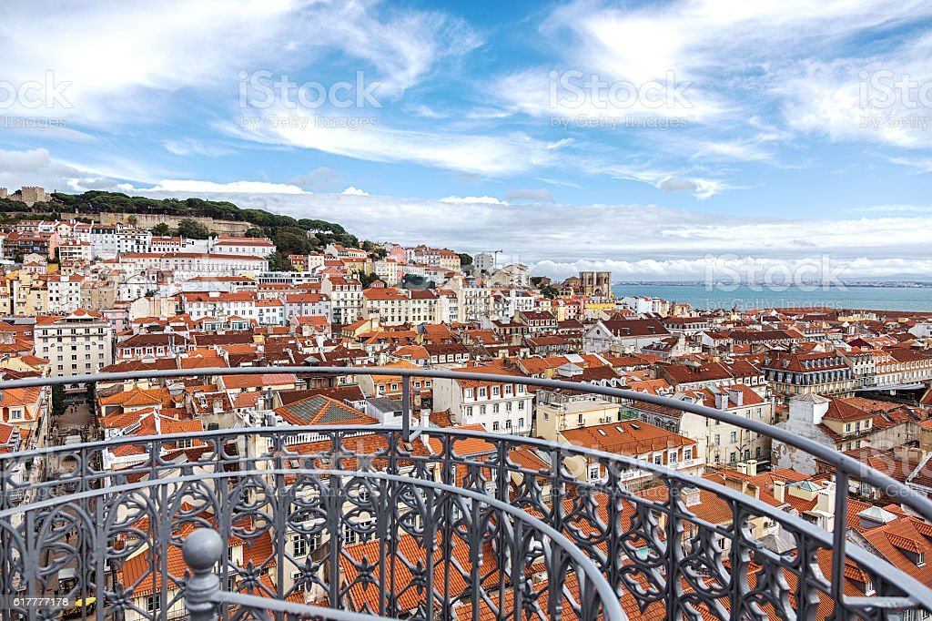 Cityscape of Lisbon capital city  Portugal - fotografia de stock