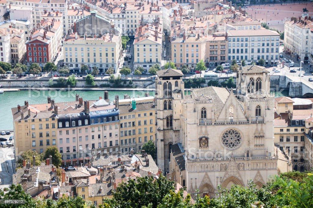 paysage urbain de Lyon - Photo