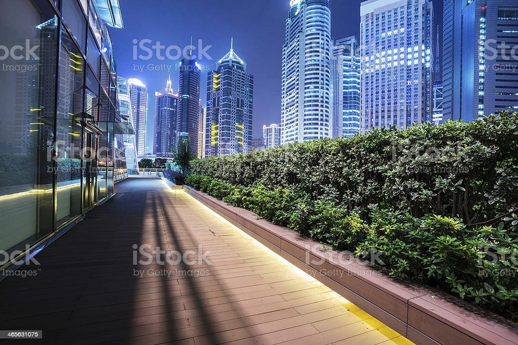cityscape of modern city royalty-free stock photo