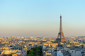 istock cityscape of paris by the sunset 484677164