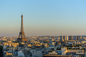istock cityscape of paris by the sunset 484677166
