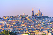 istock cityscape of paris by the sunset 636098232