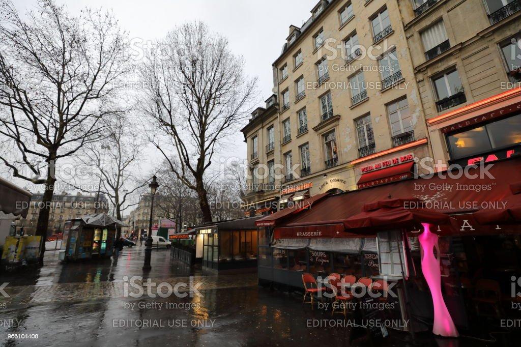 cityscape of Paris France - Royalty-free Ao Ar Livre Foto de stock