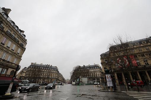 Cityscape Of Paris France - Fotografias de stock e mais imagens de Ao Ar Livre