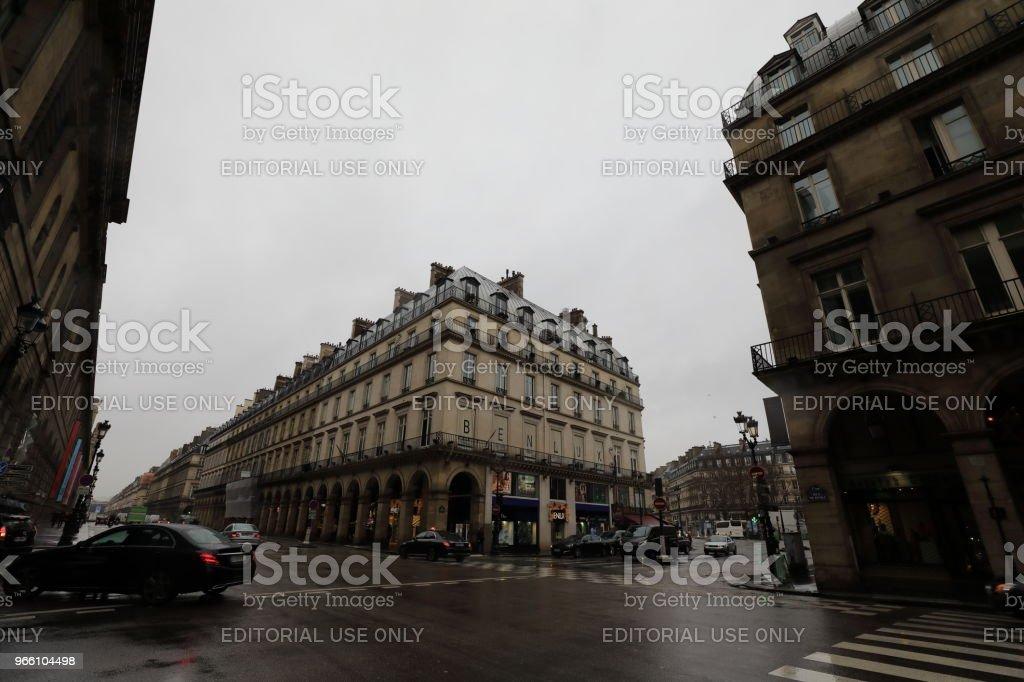 Stadtbild von Paris Frankreich - Lizenzfrei Europa - Kontinent Stock-Foto