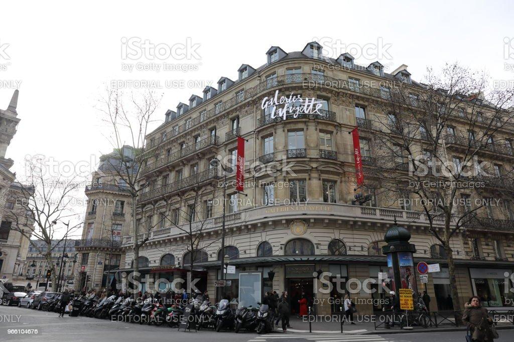 stadsbilden i Paris Frankrike - Royaltyfri Europa Bildbanksbilder
