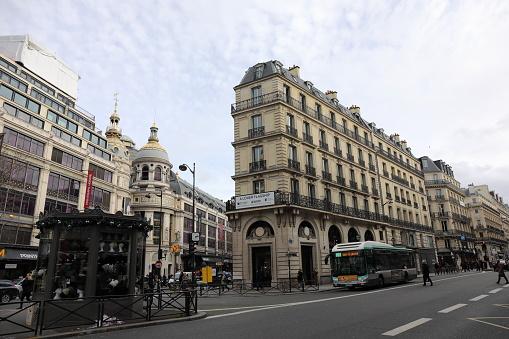 Stadsgezicht Van Parijs Frankrijk Stockfoto en meer beelden van Buitenopname