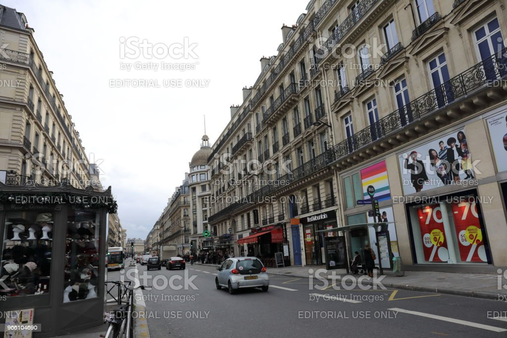 cityscape of Paris France - Royalty-free Capital Cities Stock Photo