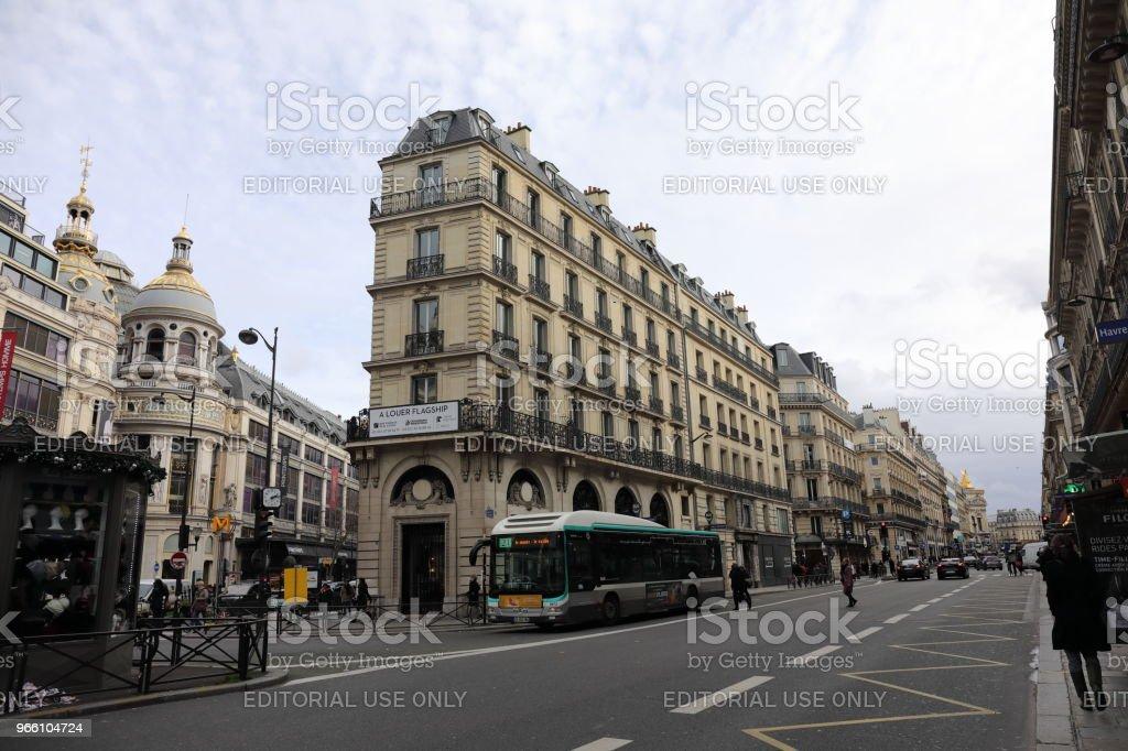 cityscape of Paris France - Стоковые фото Без людей роялти-фри