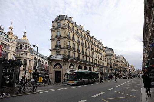 Cityscape Of Paris France — стоковые фотографии и другие картинки Без людей