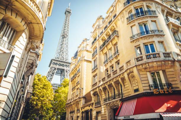 pejzaż paryża - francja zdjęcia i obrazy z banku zdjęć