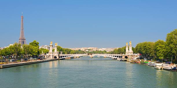 Stadtansicht von Paris – Foto