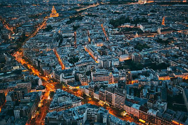 cityscape of paris - european culture stock photos and pictures