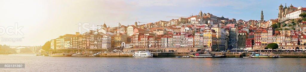 Cityscape of Porto, Portugal stock photo