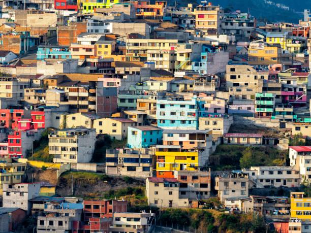 Stadtbild von Quito – Foto