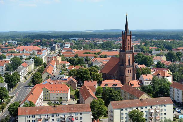 쪽을 rathenow (독일 - 브란덴부르크 주 뉴스 사진 이미지