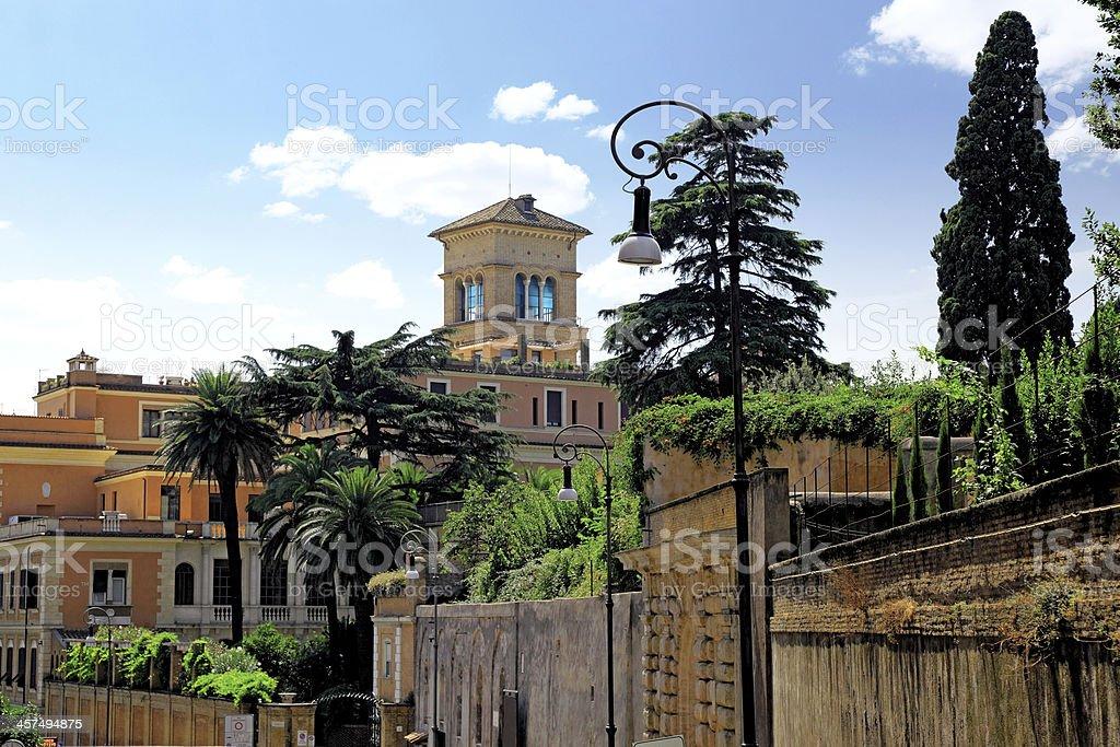 Cityscape of Rome, Italy royalty-free stock photo