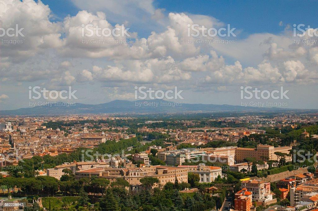 Cityscape of Rome стоковое фото