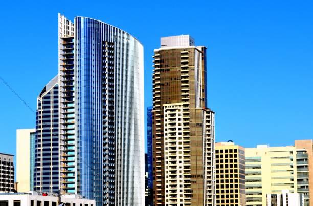 Cityscape of San Diego stock photo