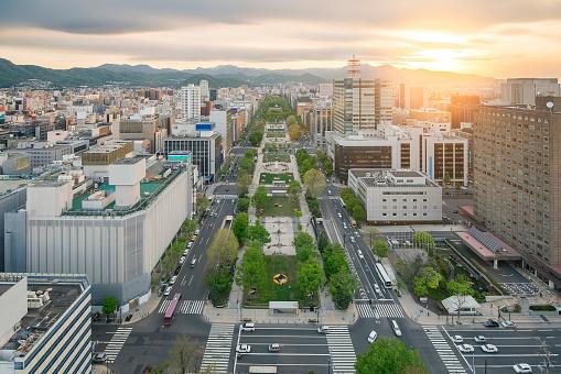 札幌の街には大通公園北海道日本 - 2015年のストックフォトや画像を多数ご用意