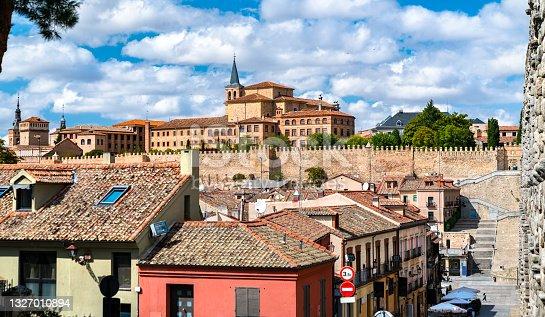 istock Cityscape of Segovia in Spain 1327010894