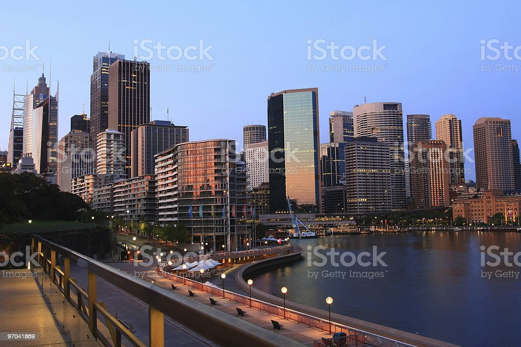 Cityscape of Sydney, Australia. royalty-free stock photo