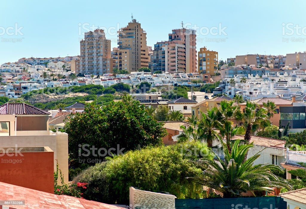Cityscape of Torrevieja royalty-free stock photo