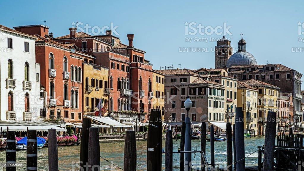 Cityscape of Venice stock photo