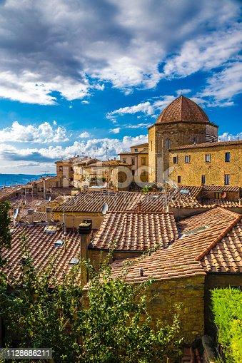 Cityscape Of Volterra - Tuscany, Italy, Europe