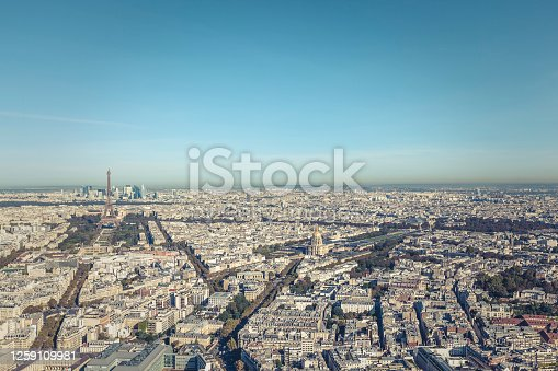 paris, capital of france, cityscape.