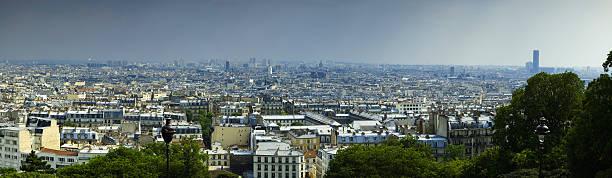 cityscape, paris, france - montmatre utsikt bildbanksfoton och bilder