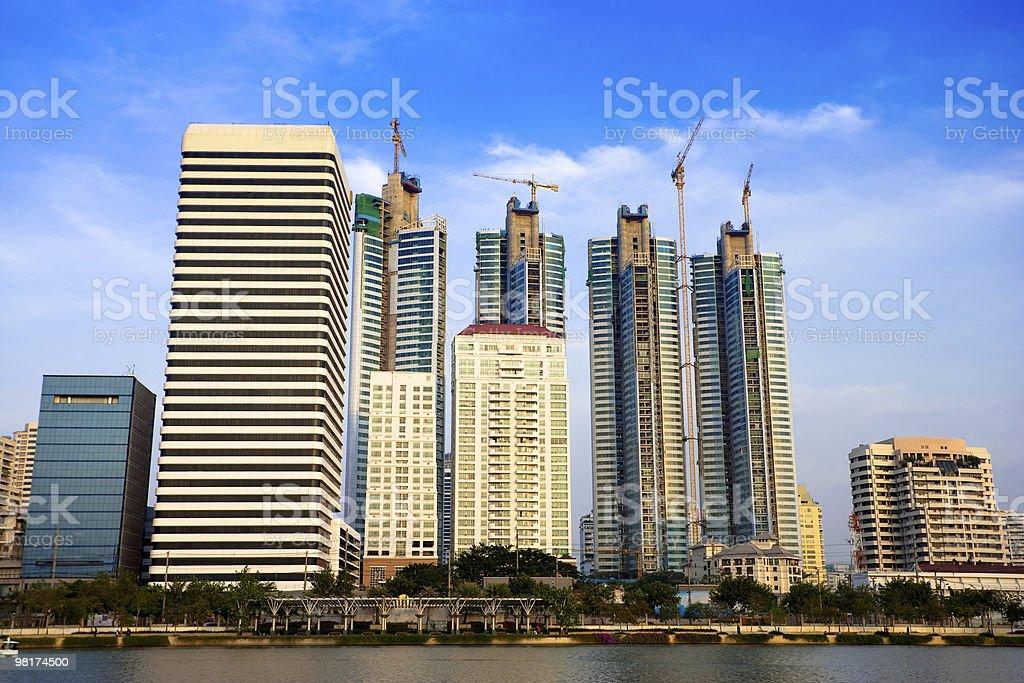 Paesaggio urbano foto stock royalty-free